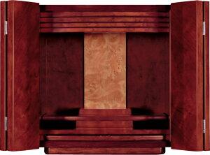 モダン仏壇 ミニ アヌシー 12号 紫檀調 高さ39cm