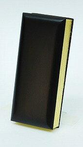 過去帳 (過去帖) 黒檀 3.0寸 日付入 高さ:約9cm