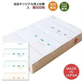 334601汎用売上伝票 500枚 品番:INO-4601 送料無料 代引き手数料無料 安心の日本製 オリジナル 伝票 業務用