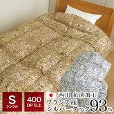 西川羽毛布団