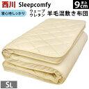【クーポンで1500円OFF】【ポイント10倍】東京西川 Sleepcomfy(スリープコンフィ) ハードタイプしっかりウェーブ…