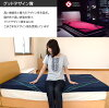 西川空气垫子AiR 01西川空气东京西川日本制造垫子单人垫被垫被深蓝粉红灰色AIR体圧分散高反発垫子
