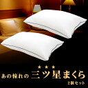 【お得な2個組】昭和西川 洗える リッチなホテル仕様枕 2層式 ホテルモードまくら GP-1911 43×63 側地 ポリジン・ピ…