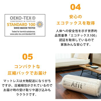 【送料無料】東京西川Afitアフィット三つ折り敷きふとんシングル97cm×201cm×8cm西川敷布団高反発体圧分散
