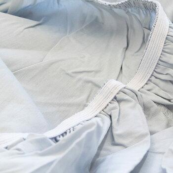 ボックスシーツセミダブル120×200×30cmマチつきマチ30cm無地カラー綿100%全周ゴム入りシンプルエレガントベッドマットレス用【CTN】