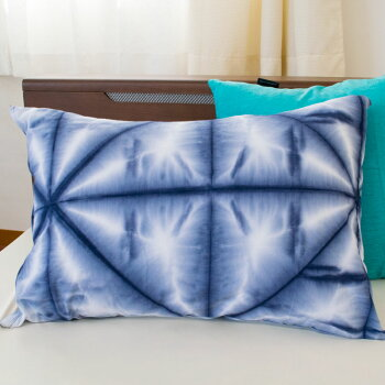 まくらカバー43×63cmレギュラー「雪華」せっか洗いざらしワンウォッシュ綿100%和柄和風枕枕カバーピロケースピローケース【CTN】