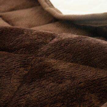 【送料無料】昭和西川フランネルあったか毛布敷きパッドダブル140×205cmハウンズウォッシャブル洗える秋冬寝具敷き毛布無地西川
