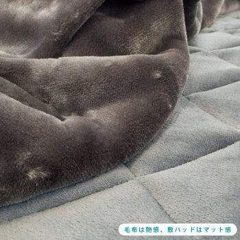 【送料無料】毛布シングル昭和西川約2kgの暖か毛布衿付き2枚合わせマイヤー毛布140×200cmハウンズモロッコ千鳥柄毛布もうふ掛け毛布ブランケット西川秋冬寝具【あす楽対応】