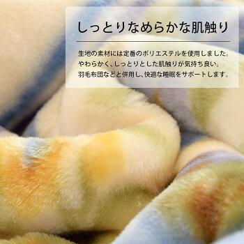毛布【訳あり】色柄込みボリュームアップ2枚合わせマイヤー毛布シングル140×200cm掛け毛布冬B品【送料無料】
