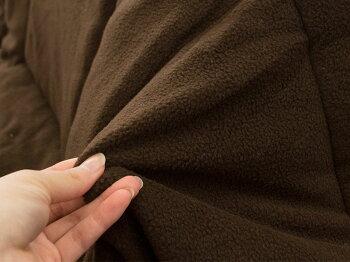 暖かこたつこたつ布団長方形おしゃれ約75×75×53cmフリースこたつぶとんコタツ炬燵おこたあったか掛け布団こたつ掛けかわいいユニーク省スペースダマスク無地トナカイ正方形暖かい