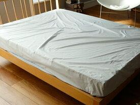 【HOUSE COLOR】ハウスカラ− ベッドシーツ(マットレスシーツ) ソリッド無地カラー ダブルサイズ 140X200X30cm