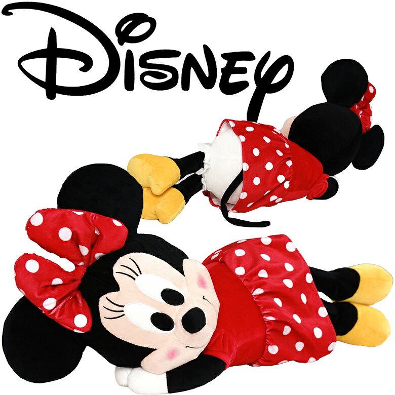 【あす楽】ディズニー ミニー 抱き枕 添い寝枕 約55x30cm 抱きぐるみ 抱きぬいぐるみ ダキマクラ 抱枕 ヌイグルミ ミニーマウス ミッキーマウス関連商品【ラッピング対応】