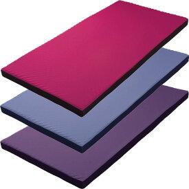 西川リビング RAKURA smart ラクラ スマート 体圧分散マットレス シングルサイズ カラー ピンク ブルー パープル 敷布団 敷きふとん 側生地が洗える 1枚もの らくら
