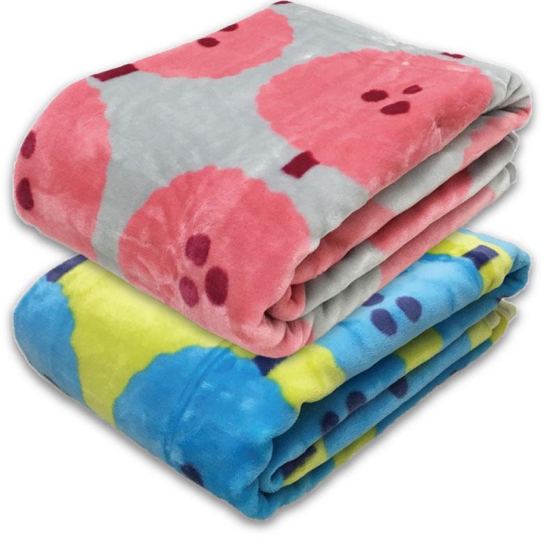 【ATSUKO MATANO】 マタノアツコ アクリルニューマイヤー毛布 木々柄 西川 シングルサイズ:140×200cm カラー:ピンク、ブルー ウォッシャブル ご家庭でお洗濯可能 MT8653 【あす楽対応】