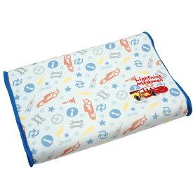 ソフト低反発まくら ジュニア用 25x35cm 高さ4〜5cm カーズ 可愛いディズニーキャラクター 子供用枕 子ども用 枕カバーはマイクロファイバー生地 子供部屋用