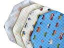 お昼寝コットカバー ( 保育園 約60×135cm ) キルティング 四隅カット済 コットカバー コットシーツ 柄色々 日本製 …