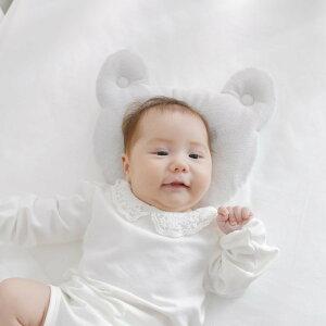 iiminベビーピローアニマル「耳」がカワイイ、写真映えベビーピロー眠ると動物の耳が生えたように見える!肌に優しいオーガニックコットン100%使用【イイミンベビー枕ベビーまくら日本製新生児赤ちゃんかわいい出産祝い】【N】【futonyasan】