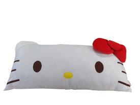 ハローキティ ロングフェイスまくら大人気!キティちゃん枕キャラクターグッズ☆サイズ約43×90cm