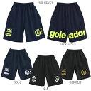 【送料無料】goleador/ゴレアドール バックロゴプリントプラパンツ g-864