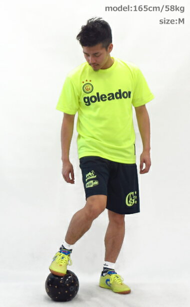【ポイント10倍】【送料無料】goleador/ゴレアドールプラシャツベーシックプラTシャツg-440