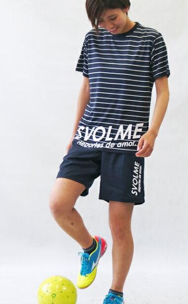 SVOLME/スボルメプラシャツボーダープラT181-63000