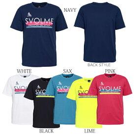 【割引セール 20%OFF】SVOLME/スボルメ プラシャツ ロゴプラT 1193-32700