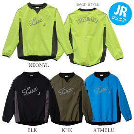 LUZeSOMBRA/ルースイソンブラ ジュニア ピステ Jr STRETCH TAFTA MESH PULLOVER TOP F2021108