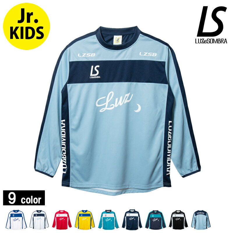 LUZeSOMBRA/ルースイソンブラ Jr BROAD LINE LONG PRA-SHIRT/ロンプラ (F1821006・S1736106) Jr.kids