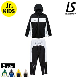 LUZeSOMBRA/ルースイソンブラ Jr STREAM LINE TRAINING JERSEY TOP BOTTOM SET/ジュニアジャージセット(F1821601) Jr.kids