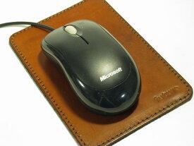 マウスパッド 革 デスク仕事が楽しくなるマウスパッド/革小物/革マウスパッド/革 パソコン周辺/【yo-ko1216】