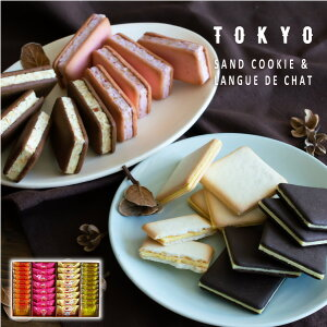 TOKYO BakedBaseギフトセットM 秋冬Ver|SAND COOKIE LANGUE DE CHAT 焼き菓子 詰合せ スイーツ 内祝 贈答用 お歳暮 御歳暮 冬ギフト あす楽対応 送料無料 宅急便発送 Agift