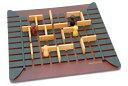 正規輸入元【大人気、脳トレ&知育ゲーム】コリドール-Quoridor-対象年齢:6〜99歳フランスの世界的名門木製ボードゲームGigamic<ギガミック社>