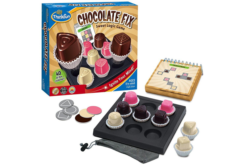 正規輸入元【アメリカの脳トレ】チョコレート・フィックス Chocolate Fix対象年齢:8〜99歳事実を組み合わせ結論を導き出す論理的推理力ThinkFun<シンクファン社>