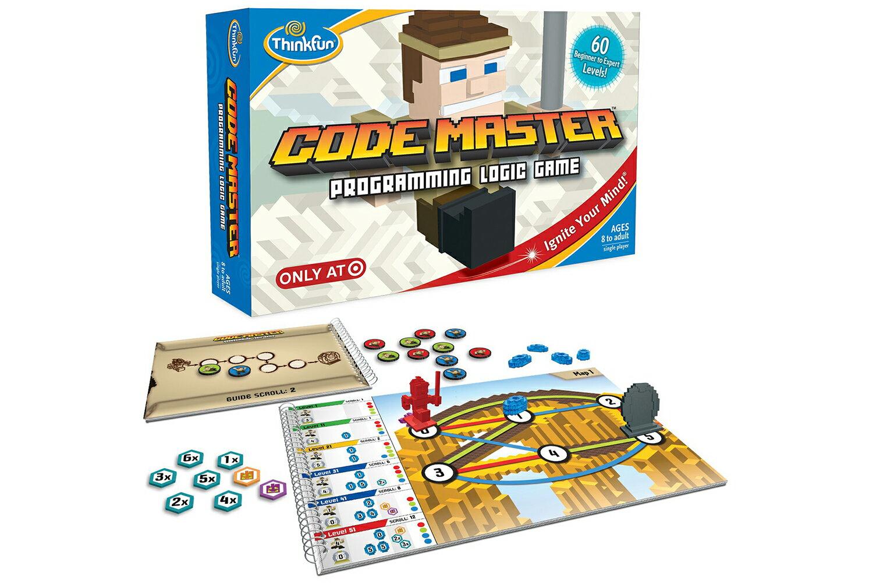 正規輸入元【アメリカの脳トレ】コード・マスター Code Master対象年齢:8〜99歳コードの考え方を学ぶ、本当のプログラミング学習ThinkFun<シンクファン社>