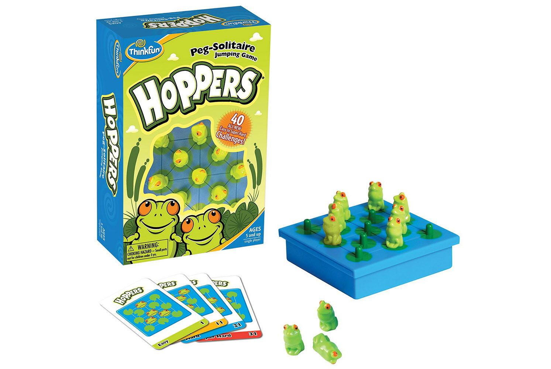 """正規輸入元【アメリカの脳トレ】ホッパーズ Hoppers対象年齢:8〜99歳頭の中で数手先まで計算する""""空間計算力""""ThinkFun<シンクファン社>"""