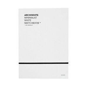 < サンクポワン > ホワイト・ノート+グラファイト鉛筆セット   建築   アート   雑貨   知育   教育   遊び   学び   おうち時間   選べるラッピング   入園   入学   ギフト   CINQPOINTS   ARCHIWHITE -