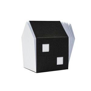 < サンクポワン > ミニマル・ハウス型メモパッド | 建築 | アート | 雑貨 | 知育 | 教育 | 遊び | 学び | おうち時間 | 選べるラッピング | 父の日 | ギフト | CINQPOINTS | HOUSE OF NOTES - white block note |