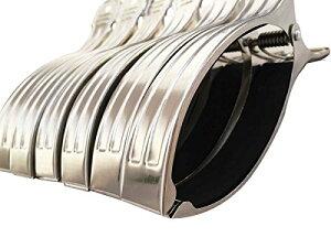 布団ばさみ ステンレス ベランダ 大型 16cm×2.1cm 6個セット 洗濯バサミ 布団 丈夫 しっかり さびにくい 長持ち 耐久性 衛生的 傷めない 厚い 壁 ベランダ 物干し ピンチ