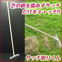 サッチ取りくん 【 庭掃除 芝掃除 枯草 枯れ屑 枯れ芝 】