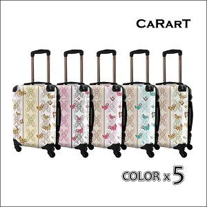\お得なクーポン配布中♪/ 【CARART】キャラート | アートケース | ベーシック フェミ | フレーム4輪 | 機内持込 【 着替商品 】 【 スーツケース 】 【 BC-etc 】 【 CRA-01 】