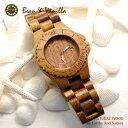 ハワイアンウッド時計 HLK1001-1 腕時計 ハワイアンコア コアウッド ビーン&バニラ Bean&Vanilla ハワイ ハワイアン雑貨 ハワイアン…