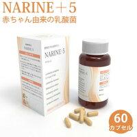ナリネ+560カプセル健康サプリメントナリネ菌善玉菌ラムノサス菌ビフィズス菌サリバリウス菌サーモフィラス菌ブルガリア菌NARINE+5