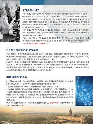 ピュアナリネ30カプセル健康サプリメント乳酸菌腸内フローラ大腸便秘PURENARINE