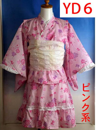 子供ゆかたドレス女の子110