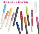 パイロット万年筆kakuno(カクノ)シンプルで使いやすい エントリーモデル 中字 細字 極細字 透明軸