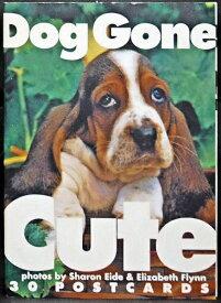 【中古】【ピエ・ブックス「「Dog Gone Cute」 ポストカード ブック」】中古:ほぼ新品
