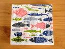 【メール便OK】 ペーパーナプキン Klippan クリッパン fish フィッシュ 魚 紙ナプキン 北欧雑貨 北欧ロッタ・グラーベ…