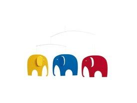 フレンステッド モビール FLENSTED MOBILES/ ゾウの仲間たち Elephant party/ モビール Mobile【北欧雑貨】【キッチン雑貨】【ビンテージ食器】【ベビー&キッズ】