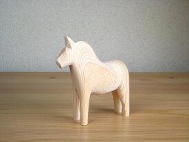 グラナス Grannas ダーラナホース Dalahorse(13cm) 木製 馬 置物 北欧 スウェーデン 北欧雑貨 ナチュラルウッド 木製 馬 手づくり ハンドメイド プレゼント お祝い|ポイント消化