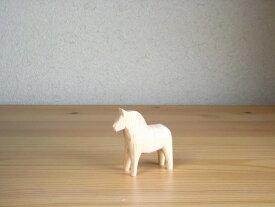 グラナス Grannas ダーラナホース Dalahorse(7cm) 木製 馬 置物 北欧 スウェーデン 北欧雑貨 ナチュラルウッド 木製 馬 手づくり ハンドメイド プレゼント お祝い|ポイント消化